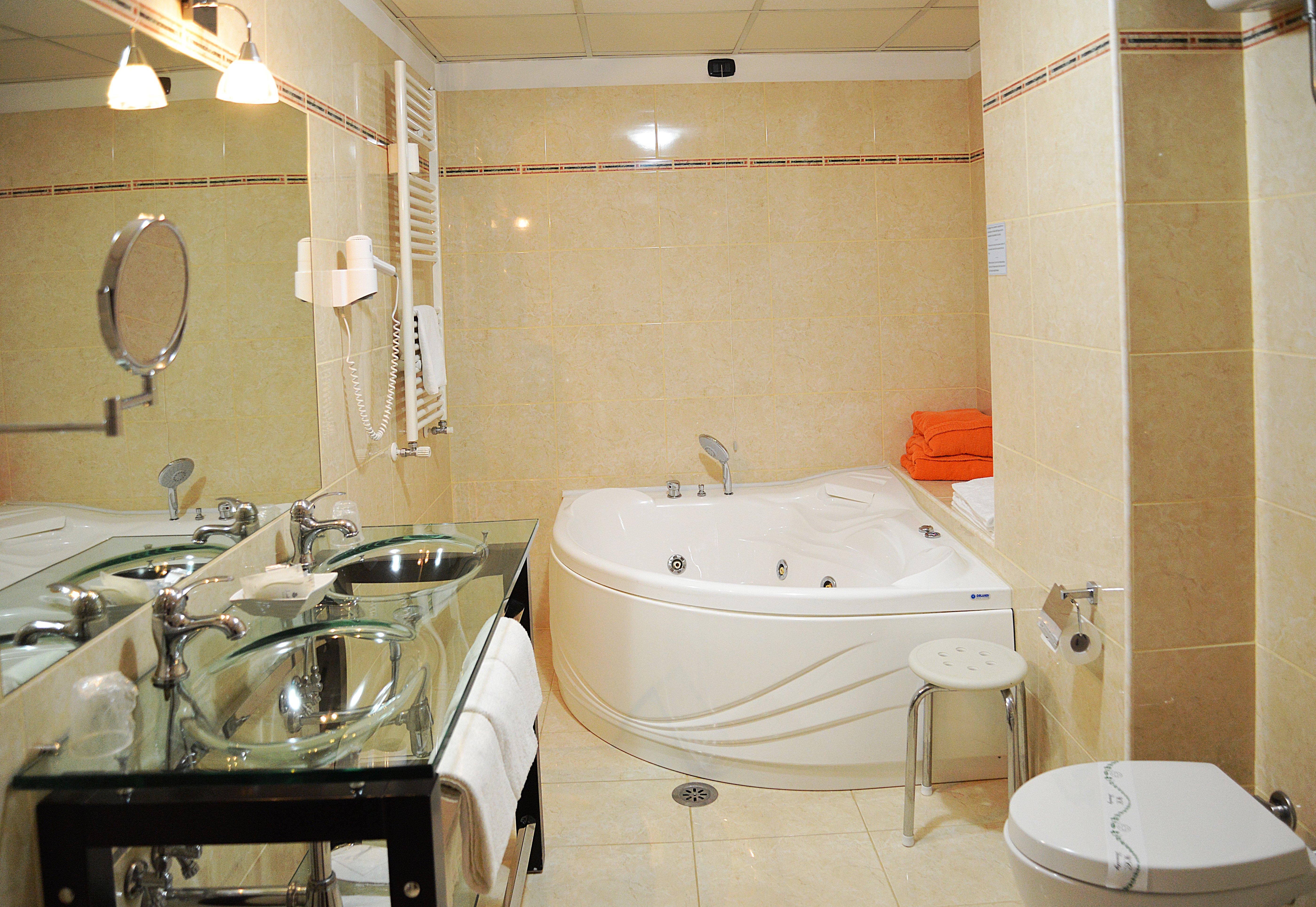 bagno vasca suite